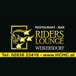 Restaurant Bar Rider's Lounge Logo