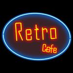Retro Café Logo